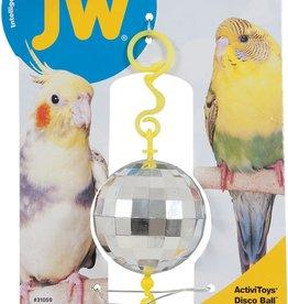 JW ActiviToy Disco Ball Bird Toy