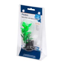 Aqueon Aqueon Betta Filter with Natural Plant