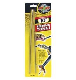 "Zoo Med Zoo Med Super Deluxe  Stainless Steel Feeding Tongs - 10"""