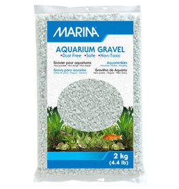 Marina Marina Cream White Decorative Aquarium Gravel - 2 kg (4.4 lb)