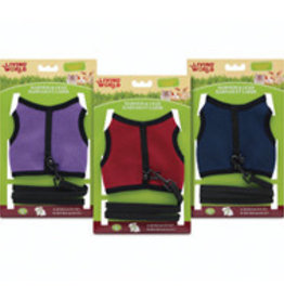 Living World Harness and Lead Set - Assorted Colors - Large