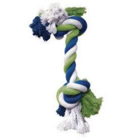 Dogit Dogit Dog Knotted Rope Toy - Multicoloured Rope Bone - Medium