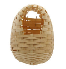 Living World Bamboo Bird Nest for Finches - Large