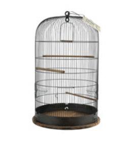 "Zolux Zolux Retro ""Marthe"" Bird Cage - Round - Rustic Metal - Ø45 x 70 cm"