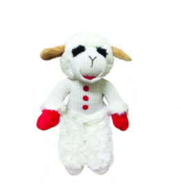 "Multipet Lamb Chop Standing 7"" Dog Toy"