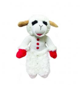 "Multipet Lamb Chop Standing 20"" Dog Toy"