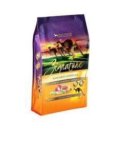 Zignature Zignature Dog Limited Ingredient Grain Free Kangaroo Small Bites 4 LB