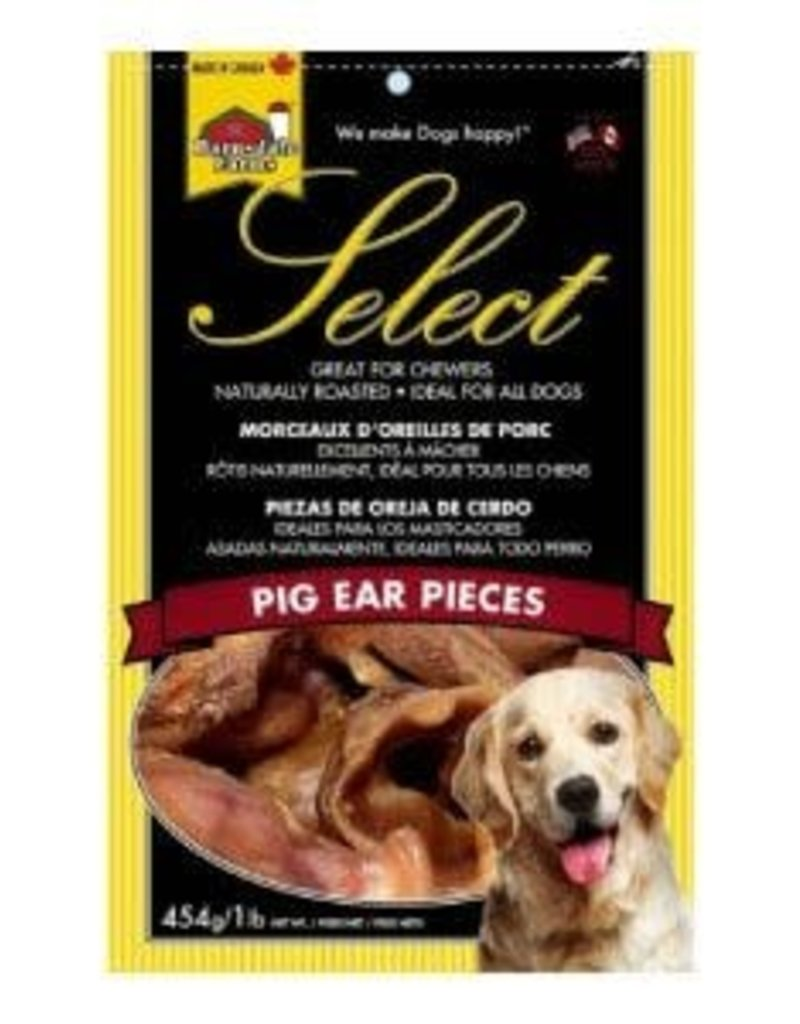 Barnsdale Select Pig Ear Pieces - 454g