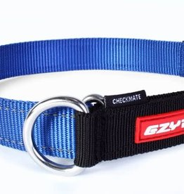 EzyDog EzyDog Checkmate Collar Blue - Small Dog