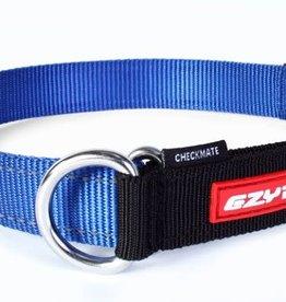 EzyDog EzyDog Checkmate Collar Blue - XLarge Dog