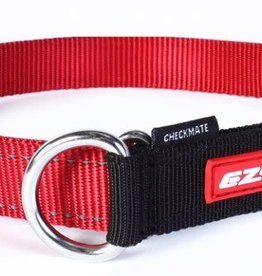 EzyDog EzyDog Checkmate Collar Red - Large Dog