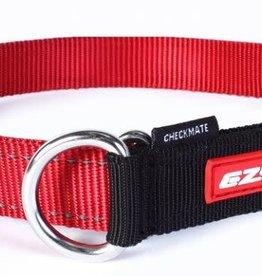 EzyDog EzyDog Checkmate Collar Red - XLarge Dog
