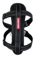 EzyDog EzyDog Chest Plate Harness Black - XSmall Dog - 11-19in.