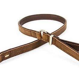 EzyDog EzyDog Oxford Leather Leash Brown - Dog