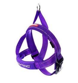 EzyDog EzyDog Quick Fit Harness Purple - XSmall Dog - 11-18in.