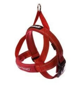 EzyDog EzyDog Quick Fit Harness Red - XSmall Dog - 11-18in.
