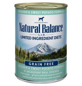 Natural Balance Natural Balance L.I.D Chicken & Sweet Potato 13oz