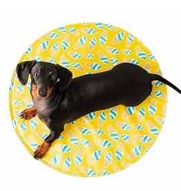 GF Pet GF Pet Round Ice Mat - Yellow - S/M