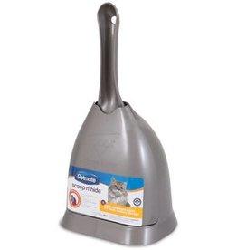 Petmate Petmate Scoop 'N Hide Litter Scoop Brushed Nickel