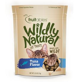 Fruitables Fruitables Wildly Natural Tune Flavor Cat Treat 2.5oz