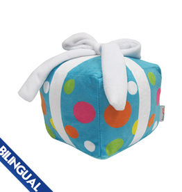 Foufou Foufou Birthday Present Plush Dog Toy - Blue