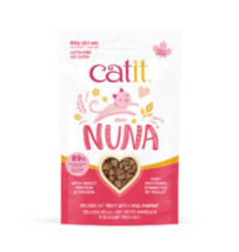 Catit Catit Nuna Treats - Insect Protein & Chicken - 60 g