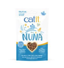 Catit Catit Nuna Treats - Insect Protein & Herring - 60 g
