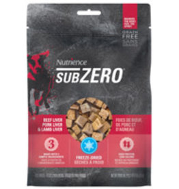 Nutrience Nutrience Grain Free Subzero Freeze-Dried Prairie Red Treats - Beef Liver, Pork Liver and Lamb Liver - 90 g