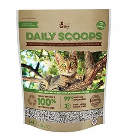Cat Love Daily Scoops - Recycled Paper Litter - 12 lbs