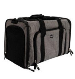 Dogit Dogit Explorer Soft Carrier Expandable Carry Bag - Gray