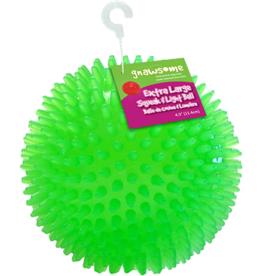 "Gnawsome Gnawsome 4.5"" Squeak & Light Ball"