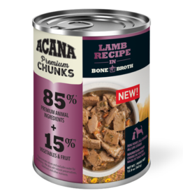 Acana Acana Lamb Recipe in Bone Broth 12.8oz