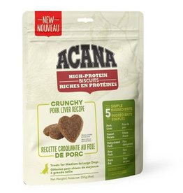 Acana Acana High Protein Biscuits - Crunchy Pork Liver - Large - 225g
