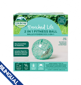 Oxbow Oxbow Enriched Life 2-in-1 Fitness Ball