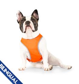 Canada Pooch Canada Pooch Safety Vest Orange - Size 14
