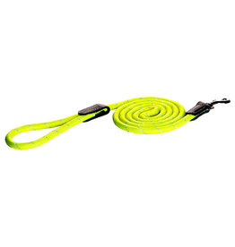 """rogz Rogz Rope Lead with Strap Yellow - 1/2"""" x 6ft. - Large"""