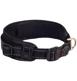 rogz Rogz Classic Padded Collar Black - XLarge