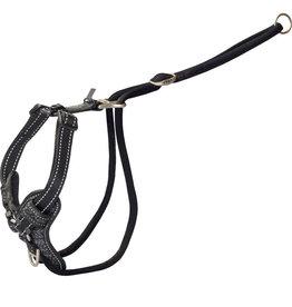 rogz Rogz Stop-Pull Harness Black - Medium