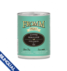 Fromm Fromm Seafood Medley Pate Wet Dog Food 12.2oz