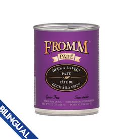Fromm Fromm Duck A La Veg Pate Wet Dog Food 12.2oz