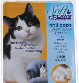 Softclaws Soft Claws Cat Clear Kitten