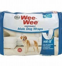 Four Paws Wee-Wee Diapers Medium 12pck