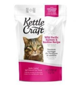 Kettle Craft Wild Pacific Salmon and Sardine Cat Treat  85gm