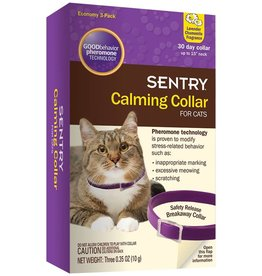Sentry Sentry Calming Collar Cat 3pk