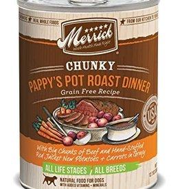 Merrick Chunky Pappy's Pot Roast Dinner 12.7oz