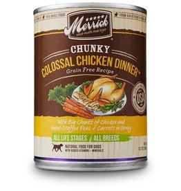 Merrick Chunky Colossal Chicken Dinner 12.7oz