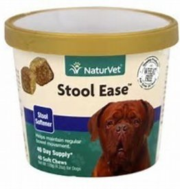 Naturvet Stool Ease Soft Chew 40ct