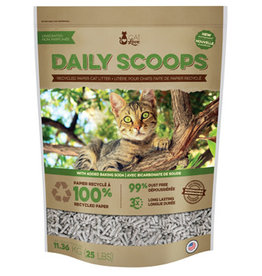 Cat Love Daily Scoops - Recycled Paper Litter - 25 lb