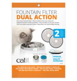 Catit Catit Dual Action Replacement Filters – 2 pack