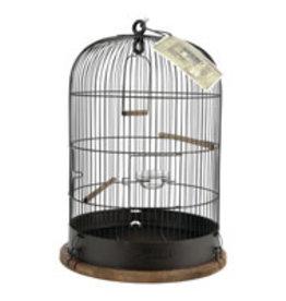 "Zolux Zolux Retro ""Lisette"" Bird Cage - Round - Rustic Metal - Ø34 x 47 cm"